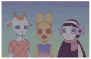 Animal Crossing by LovelyLaurenArts