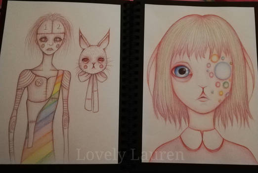Sketchbook work by LovelyLaurenArts