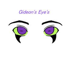 Gideon Thomson's eye's by LovelyBunny-17
