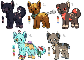 Canine Adopts 2 (1/5 OPEN) by all-type-adopts