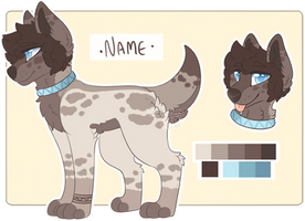 Cute Brown Pup Adopt - (CLOSED) by all-type-adopts
