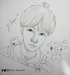 J-Hope ~ Mang by Neko-Army343