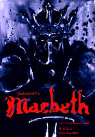 Macbeth theatre poster by stabbedwithacarrot