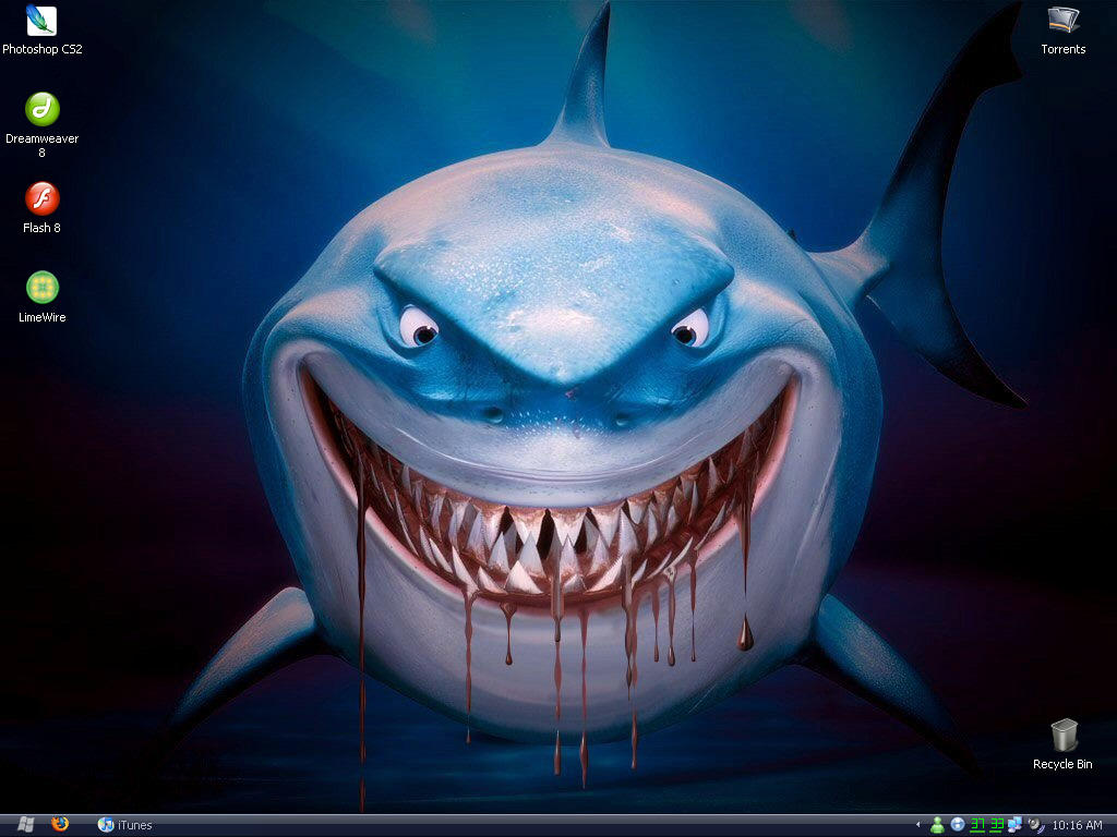 Did animators know that two of three finding nemo sharks bruce buycottarizona Choice Image