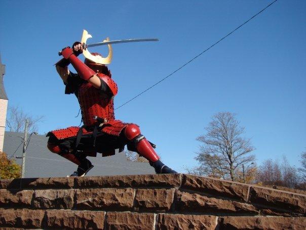 samurai photo shoot by Outlaw-Tiger