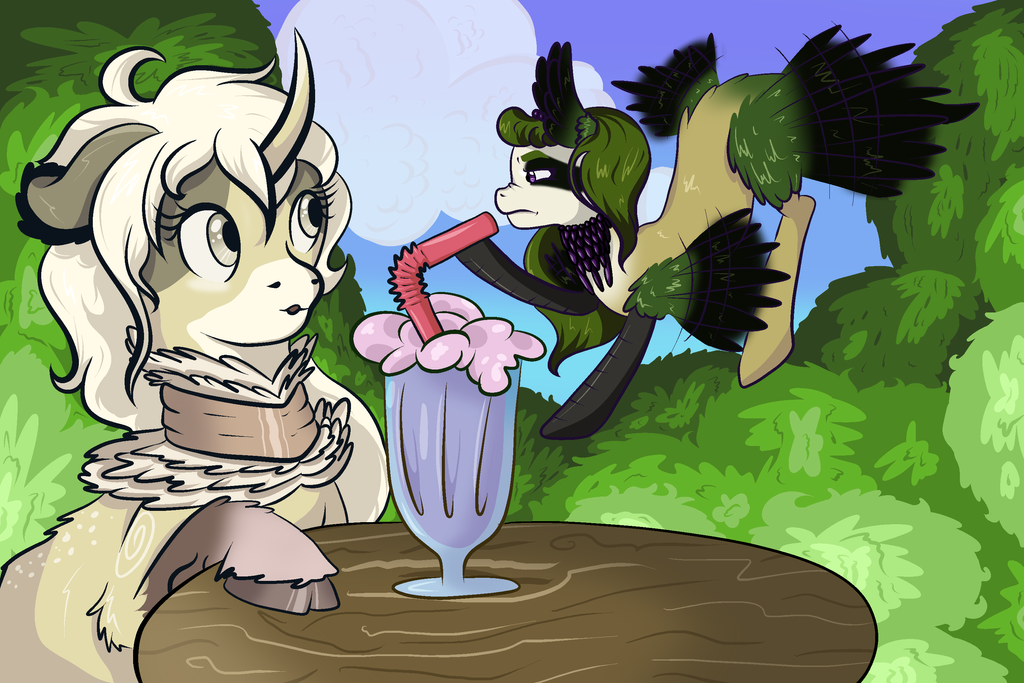 [CONTEST] This is my milkshake now by Catnipfairy