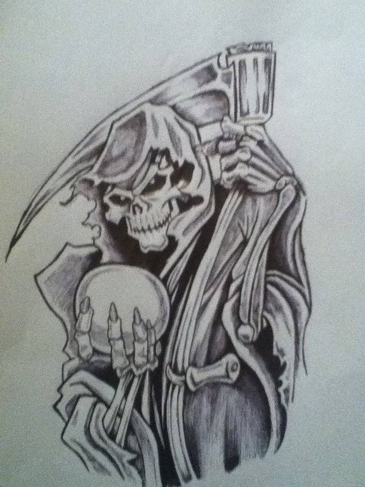 Grim Reaper with Orb by NitroInjected on DeviantArt