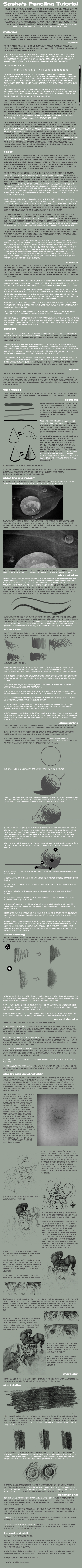 The Penciling Tutorial by sashas