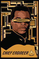 Lt. Commander La Forge by tracieching
