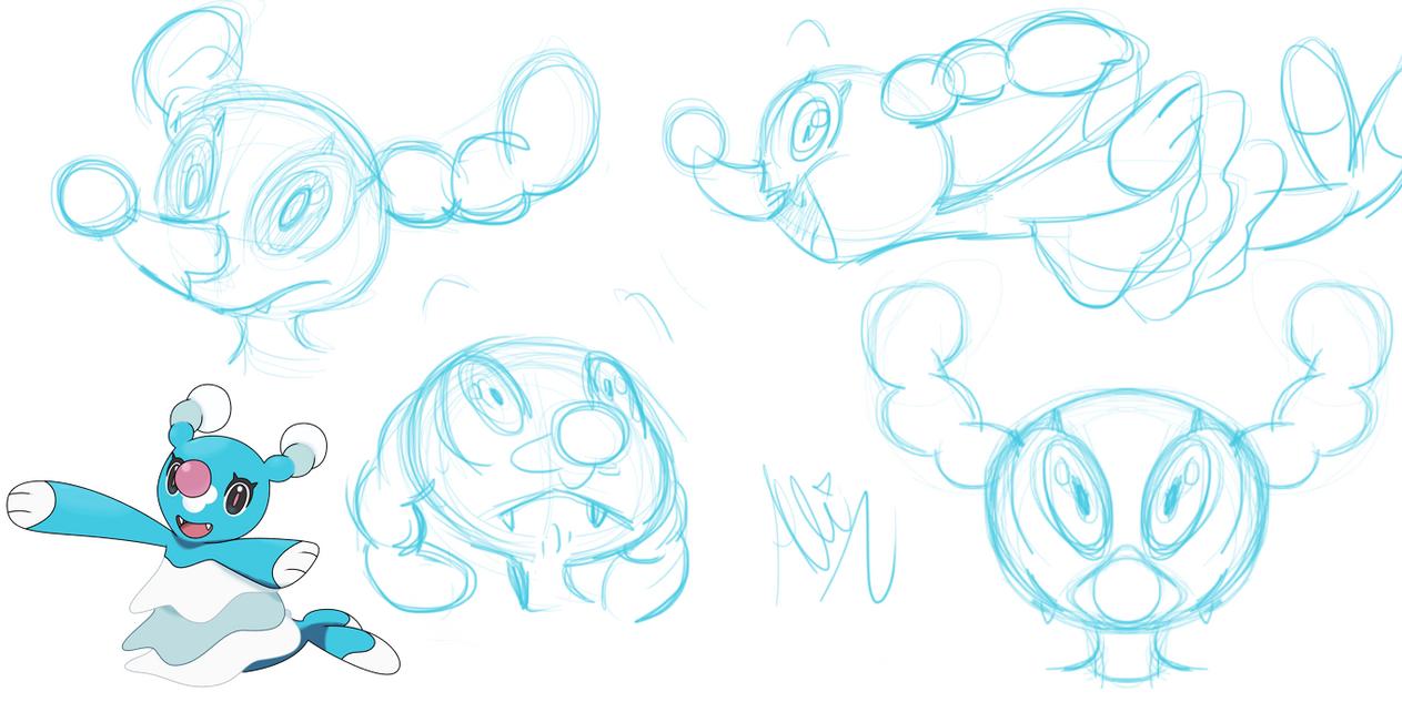 brionne sketchs by fluffyartpop