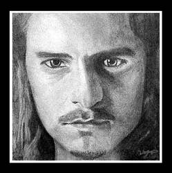 Will Turner by mindilina by PortraitPencilArt
