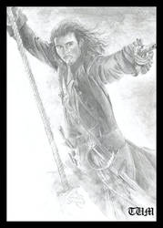 Will Turner by tumnus-d-faun by PortraitPencilArt