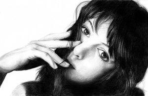 anna hathaway by mdcv07 by PortraitPencilArt