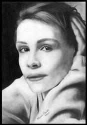Julia Roberts by mariaolivia by PortraitPencilArt