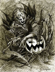 Halloween01 by Tr4pito by PortraitPencilArt