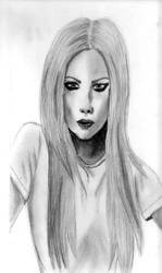 Avril by midnight-aphrodite by PortraitPencilArt