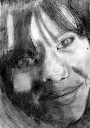 smile by Magali194 by PortraitPencilArt