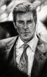 Bruce Wayne: leiaskywalker83 by PortraitPencilArt