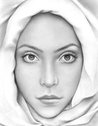 Purity by Arteddy by PortraitPencilArt