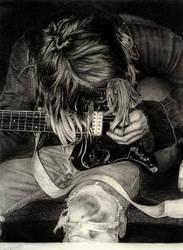 You're My Razor:LittleCinders by PortraitPencilArt