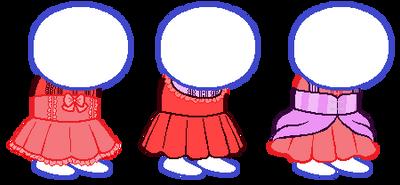 Homestuck Dress Bases