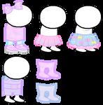 Fairy Kei Homestuck Sprite Outfits
