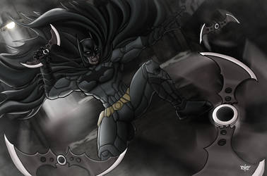 Dark Alleys of Gotham by RafaDG