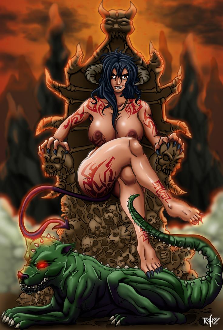 Throne of Enslaved Souls by RafaDG