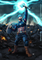 Capitain Thunder God - Marvel Endgame by RafaDG