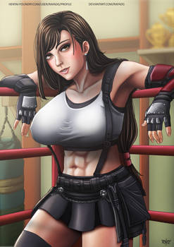 Tifa After Training
