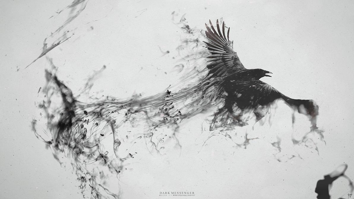 Dark Messenger by Pyrogas-Artworks