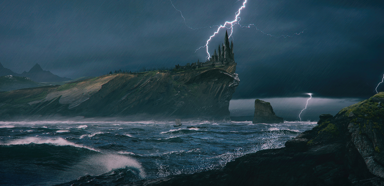 The Storm's Calling by Pyrogas-Artworks
