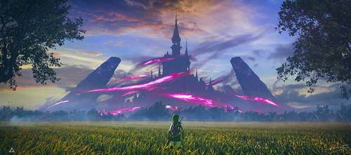 Hyrule Castle - Zelda BOTW