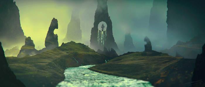 Mystical valley