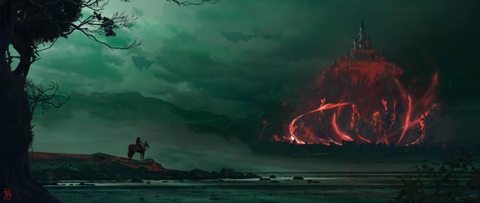 Hyrule Castle - Zelda BOTW2