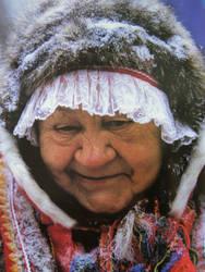 sami woman by emiliensson