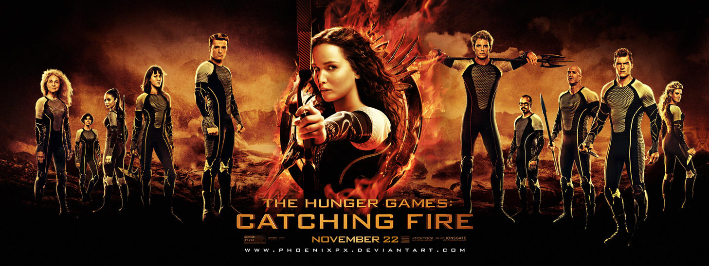 the hunger games: catching fire (final poster)phoenixpx on