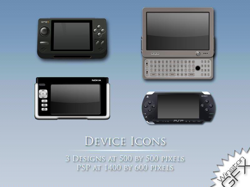 Device Designs by WinstonGFX