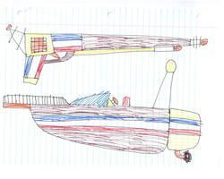 guns boats by Kevincarlsmith