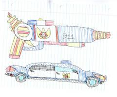 guns cars by Kevincarlsmith