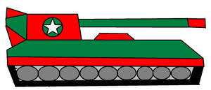 New Military Tank For Heroes Friends by Kevincarlsmith