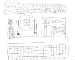 Mega bolks superheroes gods world earth by Kevincarlsmith