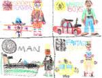 4 Toys Superheroes