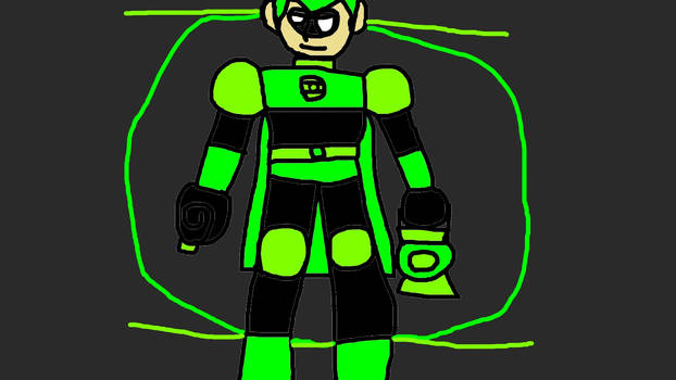 Kevin Carl Smith Is The Green Lantern