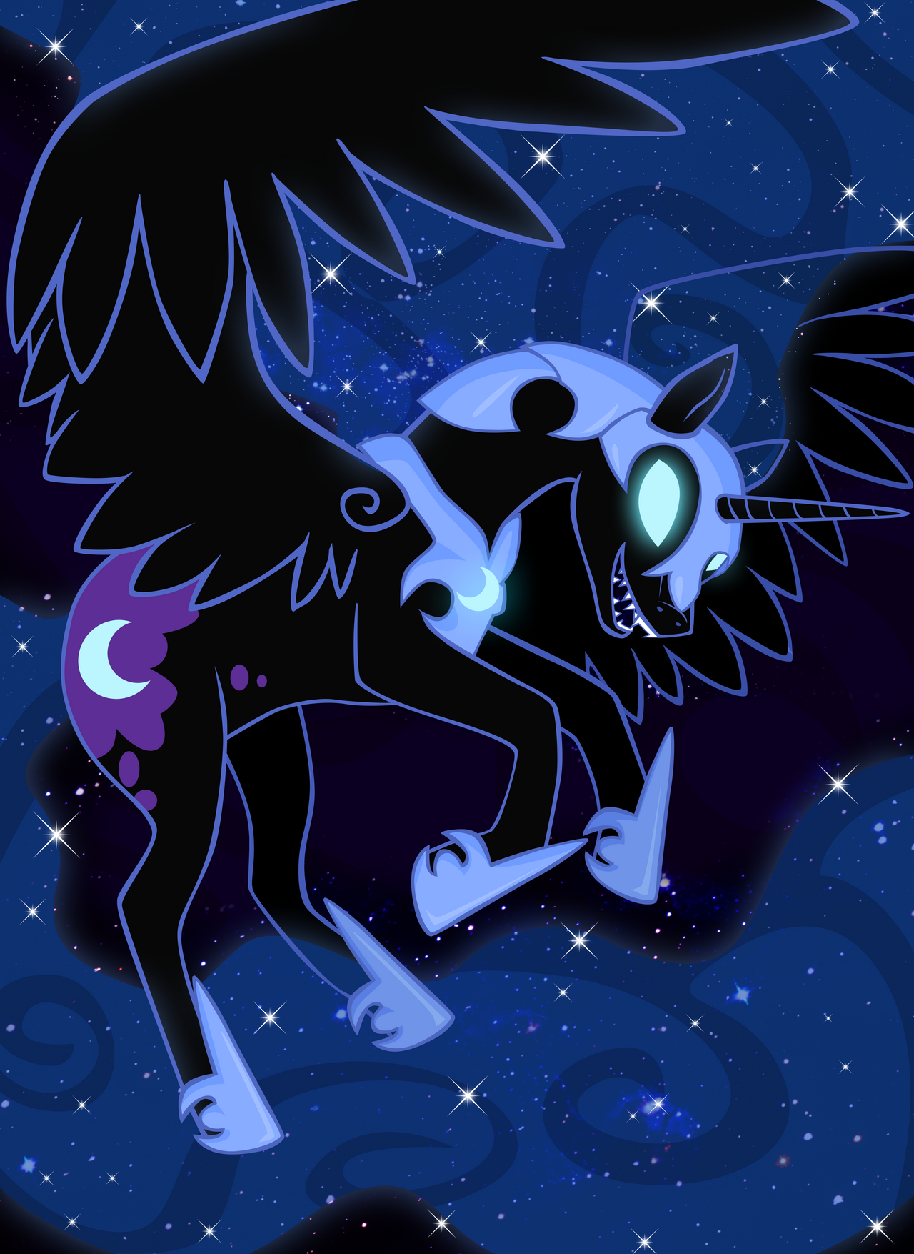Nightmare Moon by ForeshadowART