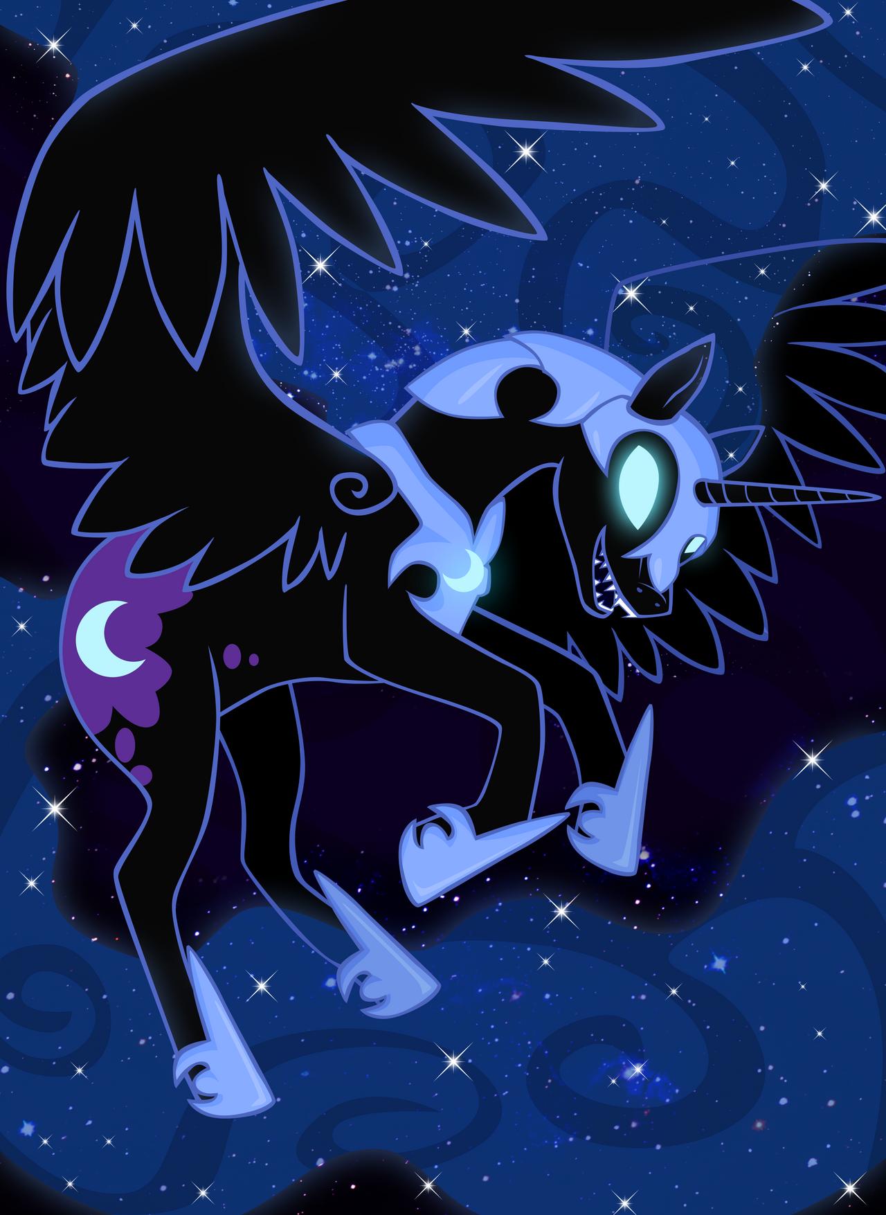 Nightmare Moon by ForeshadowART