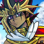 S_Another Assassin Atem drawing.