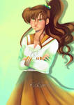 Sailor Moon Redraw_ Makoto Kino