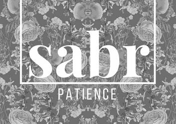 Sabr-Patience A6 Poster by Zala02Creations