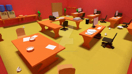 Red Office 4